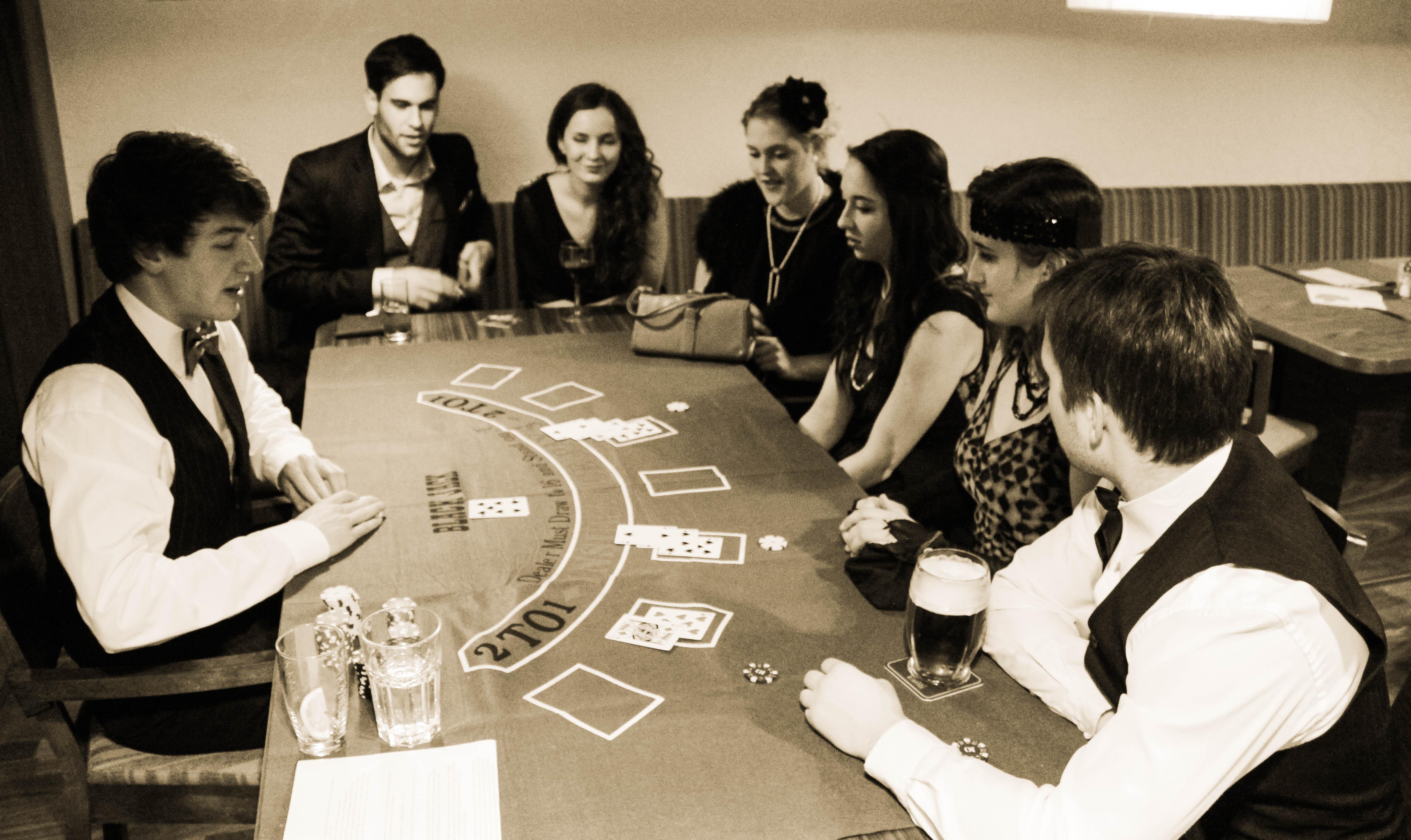 Casino ve stylu první republiky